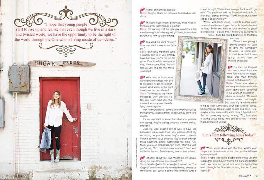 brio magazine design